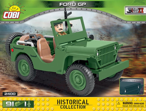 Ford GP - COBI 2400 - 91 brick utulity vehicle - BRICKTANKS