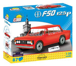 FSO 1.5 ME (Youngtimer collection) - COBI 24544 - 87 brick car - BRICKTANKS