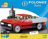 FSO Polonez Truck 1.6 - (Youngtimer Collection) COBI 24535 - 94 brick car - BRICKTANKS