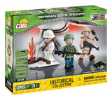 German Elite Troops (3 figures) - COBI 2031 - 26 brick figurines - BRICKTANKS