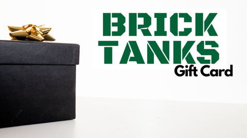 Gift Card / Gift Voucher - BRICKTANKS