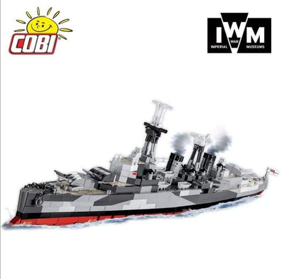 HMS Belfast - COBI 4821 - 1480 brick light cruiser - BRICKTANKS