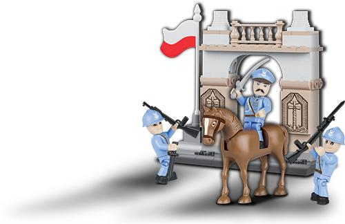 Independence (The Tomb of the Unknown Soldier, Warsaw) - COBI 2980 - WWI 105 brick set - BRICKTANKS