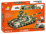 IS-7 Granite (World of Tanks) COBI 3040 - 844 brick tank - BRICKTANKS