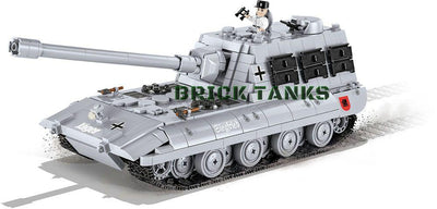 Jagdpanzer E-100 ('World of Tanks') - COBI 3036 - 950 brick tank destroyer - BRICKTANKS