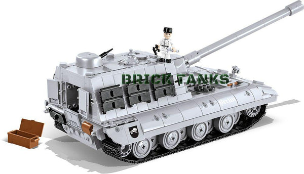 Jagdpanzer E-100 ('World of Tanks') - Lego compatible COBI 3036 - 950 brick tank destroyer - BRICKTANKS