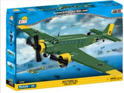Junkers JU-52 - COBI 5710 - 548 brick transport aircraft - BRICKTANKS