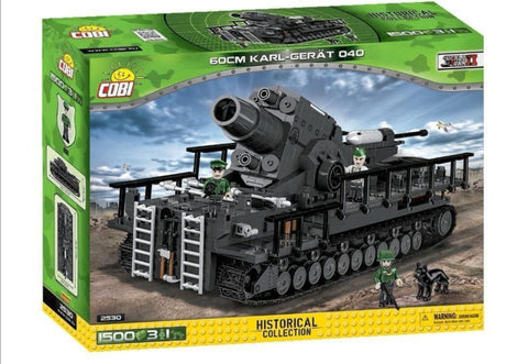 Karl-Gerät 040 ADAM - COBI 2530 - 1500 brick siege mortar - BRICKTANKS