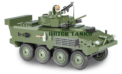 LAV III APC - Lego compatible COBI 2609 - 480 brick armoured personnel carrier - BRICKTANKS