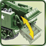 M12 GMC - COBI 2531 - 560 brick self-propelled gun - BRICKTANKS