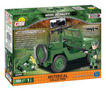 M151 A1 ('Mutt') - Lego compatible COBI 2230 - 91 brick utulity vehicle - BRICKTANKS