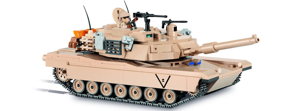 M1A2 Abrams - Lego compatible COBI 2619 - 810 brick main battle tank - BRICKTANKS