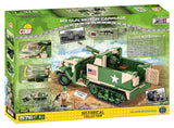 M3 Gun Motor Carriage - COBI 2535 - 560 brick WWII GMC - BRICKTANKS