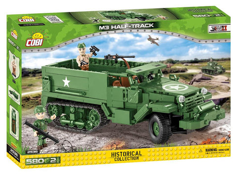 M3 Half track - COBI 2536 - 580 brick Armoured Personal Carrier - BRICKTANKS