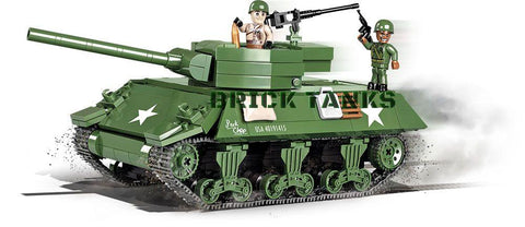 M36 Jackson - Lego compatible COBI 2390 - 460 brick tank destroyer - BRICKTANKS