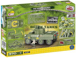 M8 Greyhound - Lego compatible COBI 2497 - 370 brick armoured car - BRICKTANKS