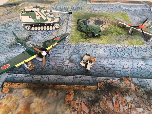 Military Diorama Mat - BRICKTANKS