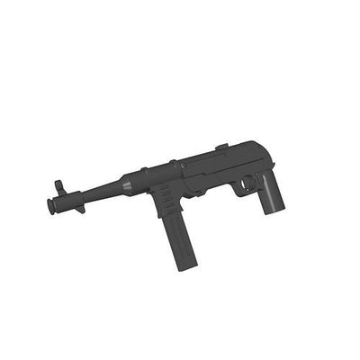 MP 40 (Maschinenpistole 40) - German machine gun - BRICKTANKS
