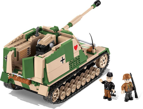 Nashorn - Lego compatible COBI 2517 - WWII kit - 580 brick tank destroyer - BRICKTANKS