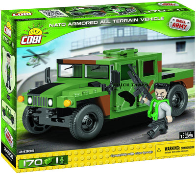 NATO Armoured All-Terrain Vehicle - COBI 24306 - 170 brick model - BRICKTANKS