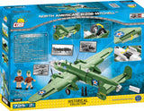 North American B-25B - Lego compatible COBI 5713 - 725 brick medium bomber - BRICKTANKS
