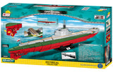 ORP Orzeł - COBI 4808 - 1,240 brick submarine - BRICKTANKS