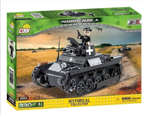 Panzer I Ausf. A - COBI 2534 - light tank - BRICKTANKS