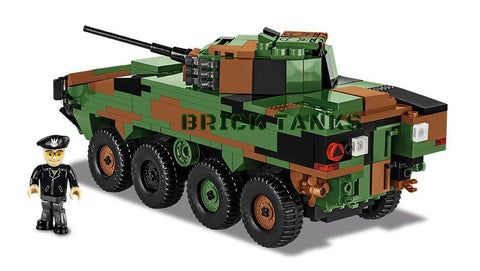 Patria AMV - Lego compatible COBI 2616 - 442 brick wheeled armoured vehicle - BRICKTANKS