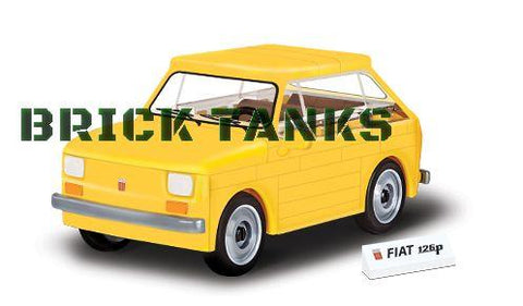 Polski Fiat 126 - COBI 24530 - 71 brick car - BRICKTANKS
