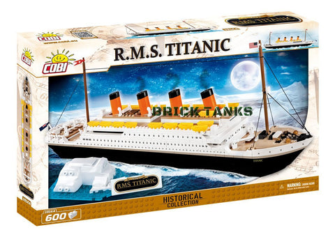 RMS Titanic - COBI 1914A - 600 brick historic ship - BRICKTANKS