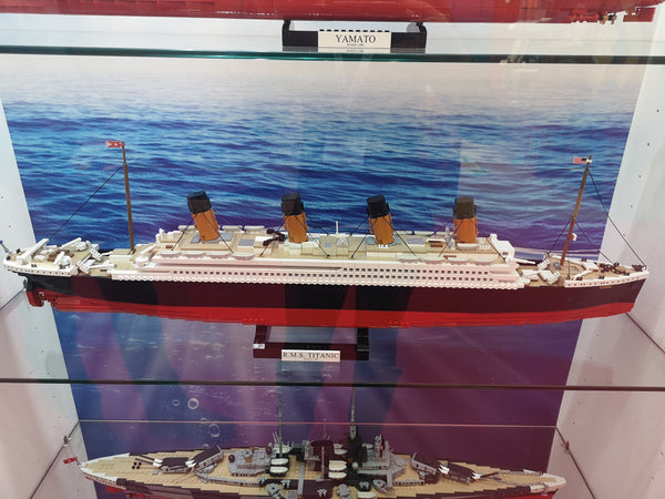 RMS Titanic - Lego compatible COBI 1916 - 2840 brick historic ship - BRICKTANKS