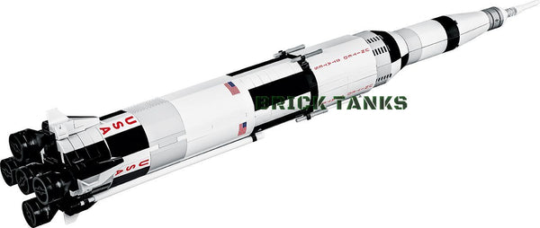 Saturn V Rocket - Lego compatible COBI 21080 - 415 brick spacecraft - BRICKTANKS