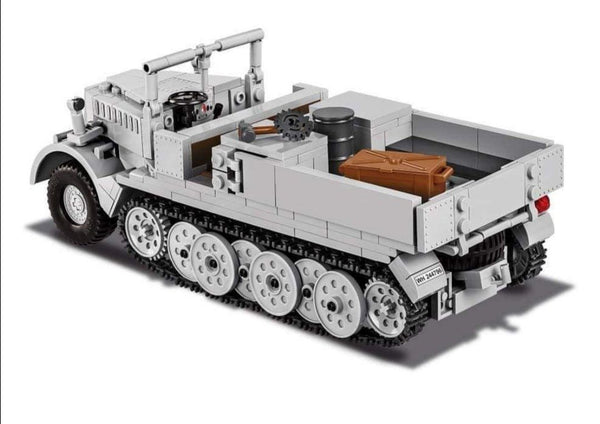 Sd.Kfz.9 (FAMO) - Lego compatible COBI 2522 - 412 brick half-track recovery vehicle - BRICKTANKS
