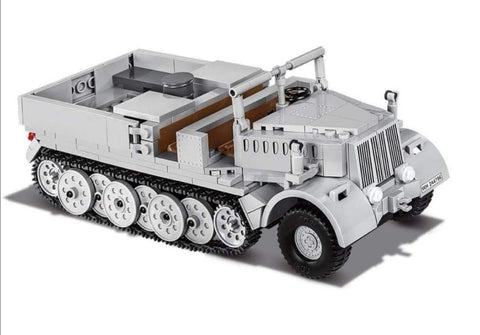 Sd.Kfz.9 (FAMO) - COBI 2522 - 412 brick half-track recovery vehicle - BRICKTANKS
