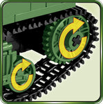 Sherman M4A1 - COBI 2464A - 480 brick medium tank - BRICKTANKS