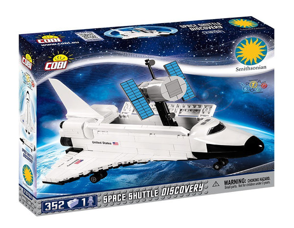 Space Shuttle Discovery - Lego compatible COBI 21076A - 352 brick space craft - BRICKTANKS