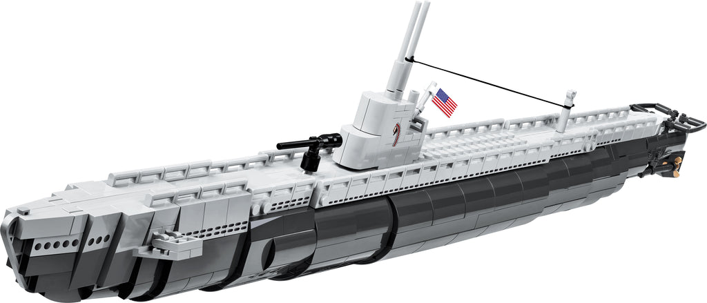 SS-238 USS Wahoo - Lego compatible COBI 4806 - 700 brick submarine - BRICKTANKS