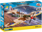 Supermarine Spitfire Mk IX - COBI 5525 - 280 brick fighter aircraft - BRICKTANKS