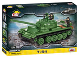 T-54 Tank - COBI 2613 - 480 brick main battle tank - BRICKTANKS