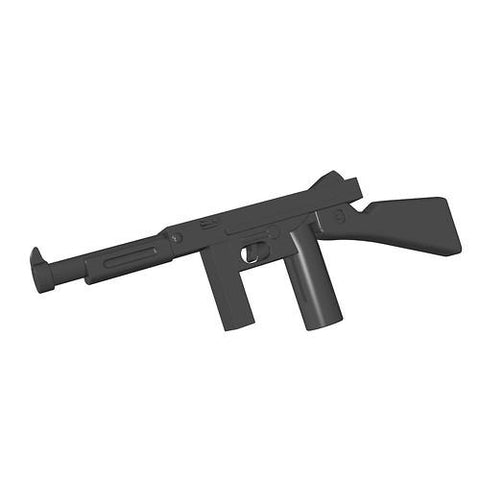 Thompson - American submachine gun - BRICKTANKS