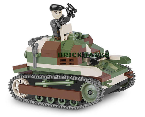 TKS Tankette - Lego compatible COBI 2383 - 250 brick light tank - BRICKTANKS