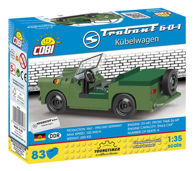 Trabant 601 Kubelwagen (Youngtimer Collection) - COBI-24556 - 83 bricks - BRICKTANKS