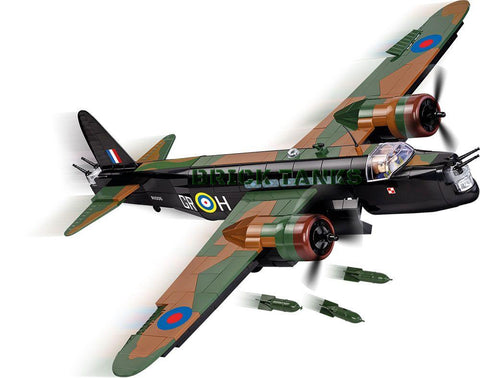 Vickers Wellington MK. 1C - Lego compatible COBI 5531 - 560 brick medium bomber - BRICKTANKS