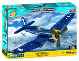 Vought F4U Corsair - COBI 5714 - 270 brick fighter aircraft - BRICKTANKS
