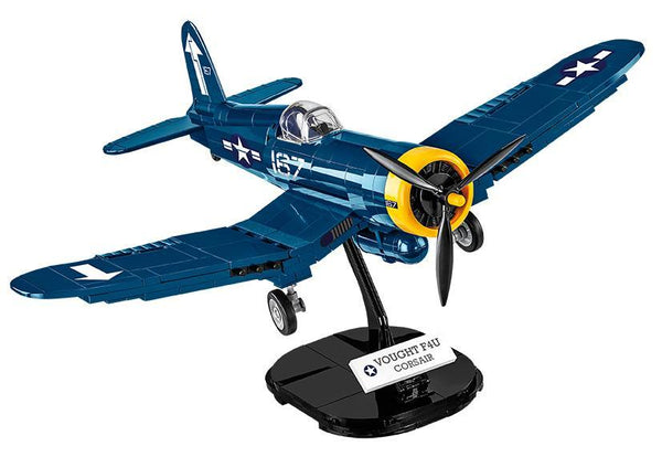 Vought F4U Corsair - Lego compatible COBI 5714 - 270 brick fighter aircraft - BRICKTANKS