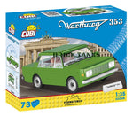 Wartburg 353 - Lego compatible COBI 24542 - 73 piece automobile - BRICKTANKS