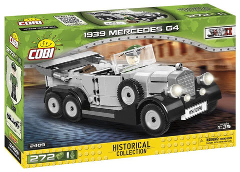 WWII 1939 Mercedes G4 - COBI 2409 - 280 Bricks - BRICKTANKS