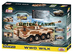WWO WILK - COBI 2617 - 500 brick wheeled fighting vehicle - BRICKTANKS