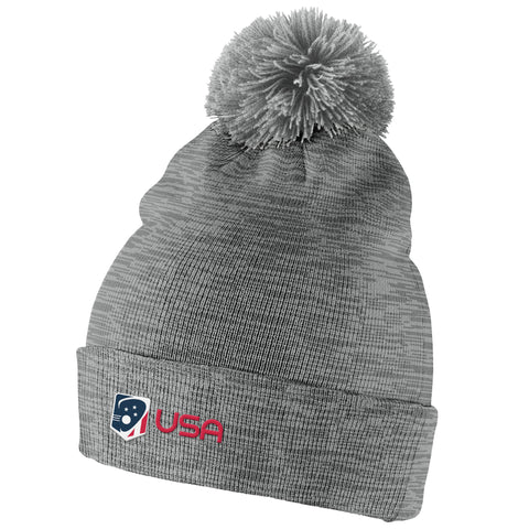Team USA Nike Swoosh Heather Pom Hat
