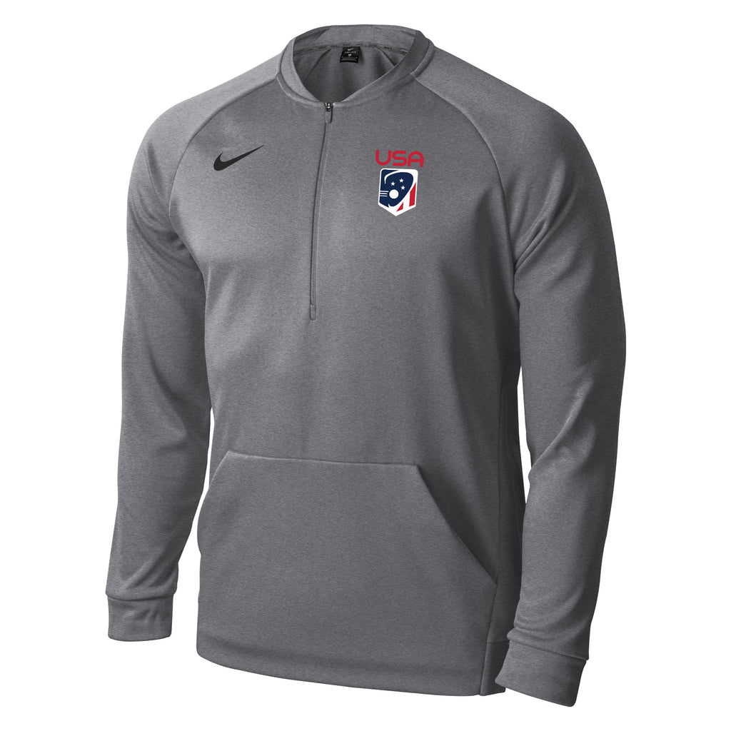 cfabc4d22c6c Men s Team USA Nike Therma 1 4 Zip – US Lacrosse Member Store